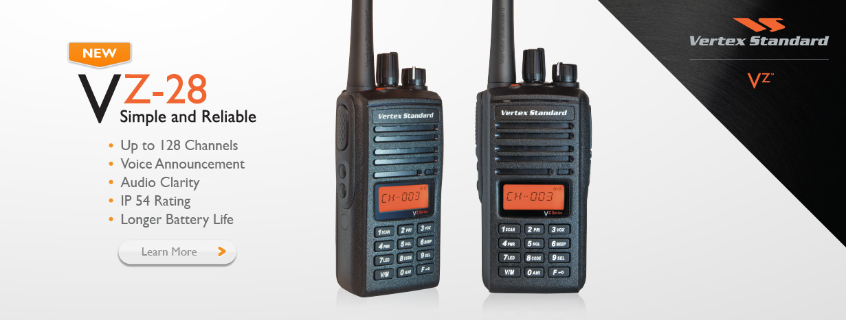 VZ 28 Two way radio - Tele Dynamics Global Com