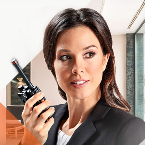walkie talkie has been useful in the hospitality industry